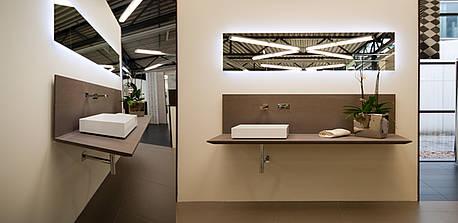 Moderner Waschtisch monor erleben im badezimmer